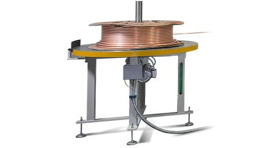 4-RUNNER -  Sistema totalmente eléctrico para enderezar, cortar, doblar y deformar tubos alimentado por grandes bobinas