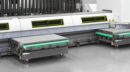 Sistema automático de descarga Lasertube LT7