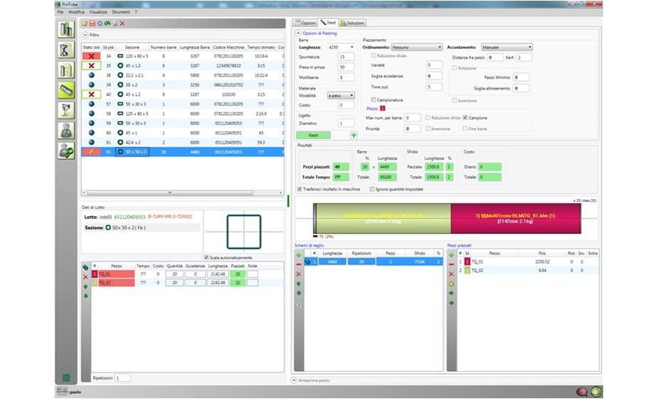 Planificación y monitoreo remoto de los lotes a producir