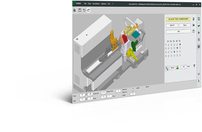 3-RUNNER - Coil-fed end-forming and cutting machine programming software.