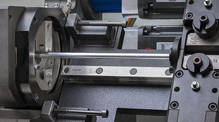 Sistema de corte orbital de doblado de tubos CNC a partir de bobina.