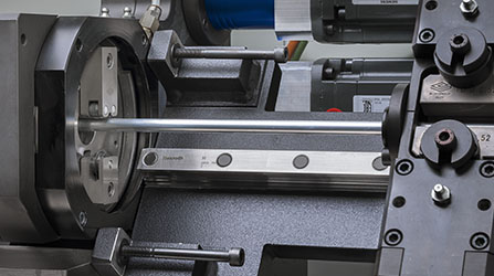 Sistema de corte orbital na curvadora CNC