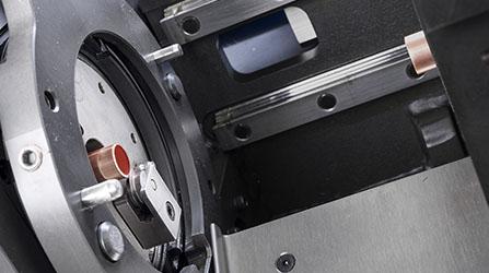 Sistema de corte orbital de doblado de tubos CNC a partir de bobina