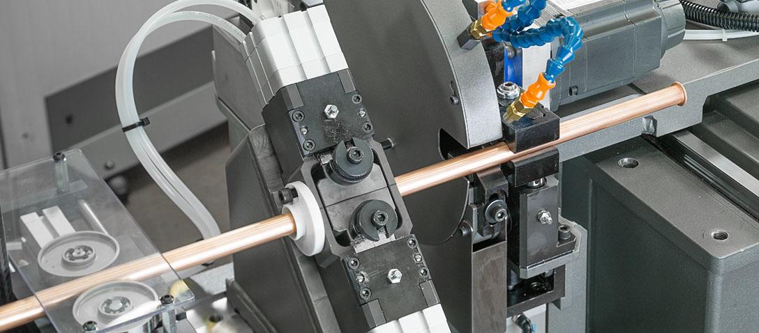 Sistema de deformación de tubos a partir de bobina