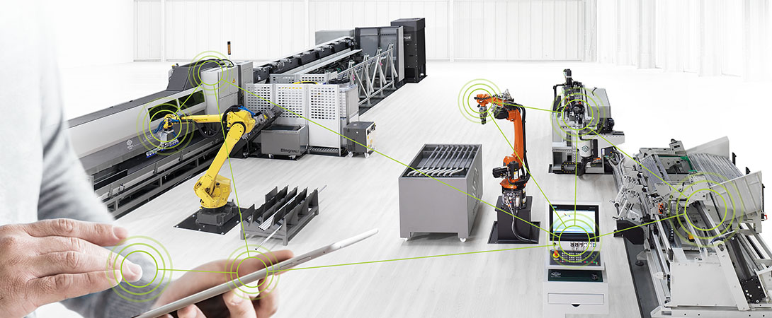 Technological integration of laser cutting and tube bending