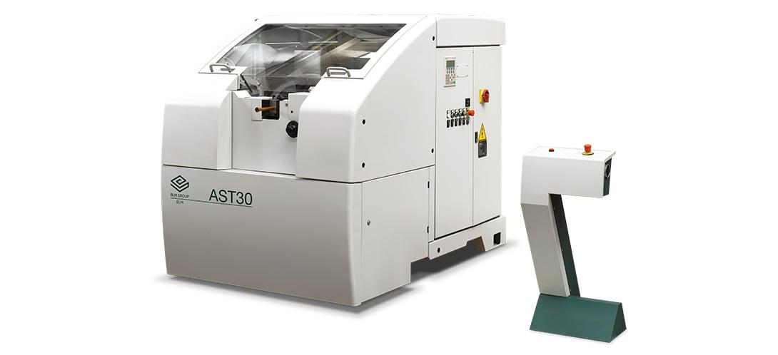 AST30 - гидравлический станок для формовки концов труб диаметром до 40 мм и мощностью до 80 кН