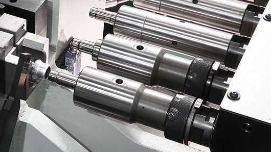 AST30 - All-electric tube end-forming machine with CNC rolling device