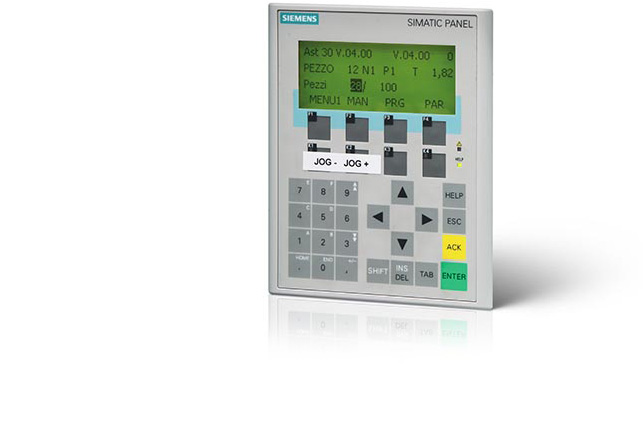 Control PLC de la deformadora de tubos AST30