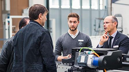 BLM GROUP сопровождает Вас и делится своими знаниями на всех этапах выбора новой производственной системы.