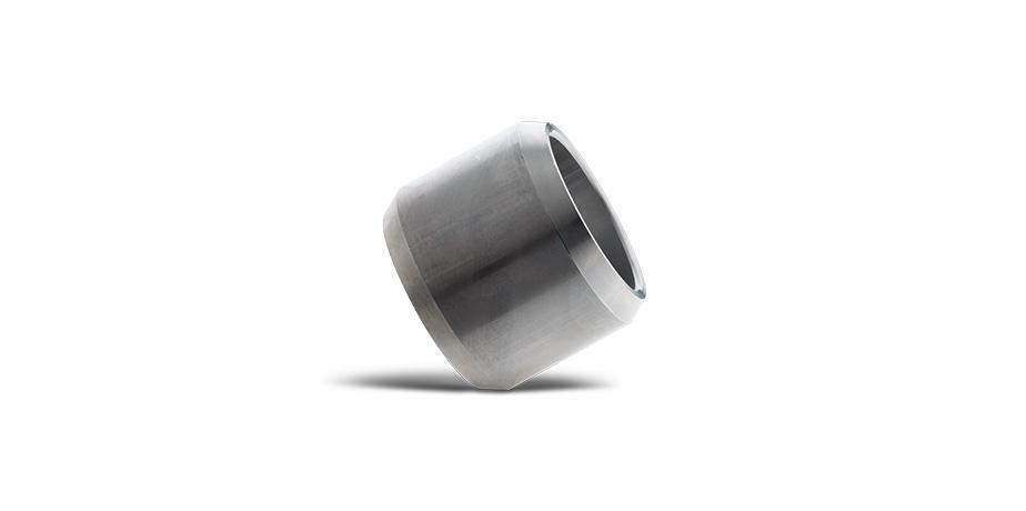 Boccola di alluminio con smusso esterno