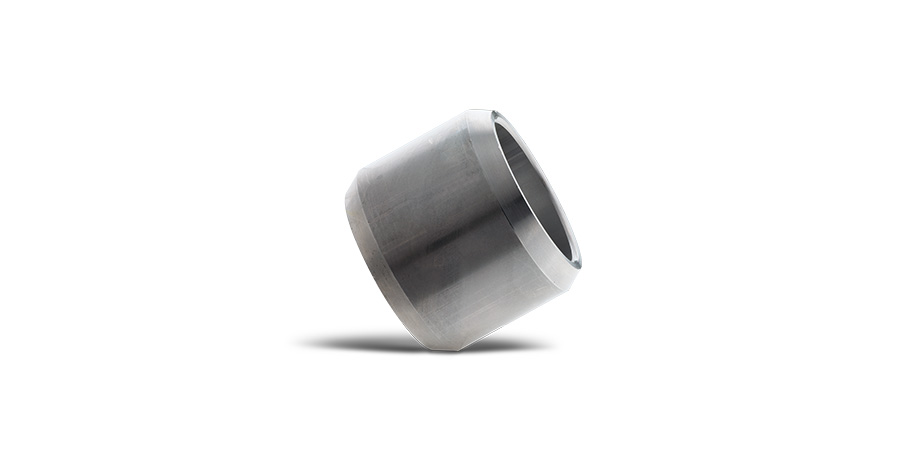 Douille d'aluminium avec chanfrein externe
