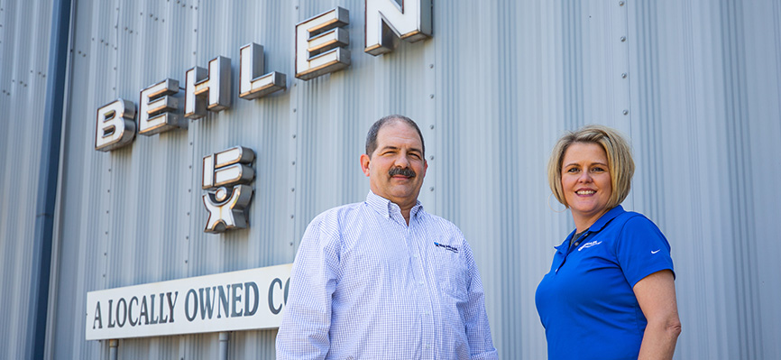 BEHLEN MFG CO. - Customers always satisfied with automation