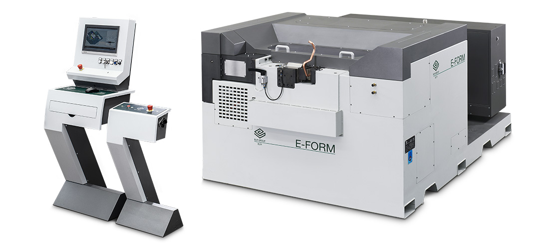E-FORM - All-electric tube end-forming machine with CNC rolling device