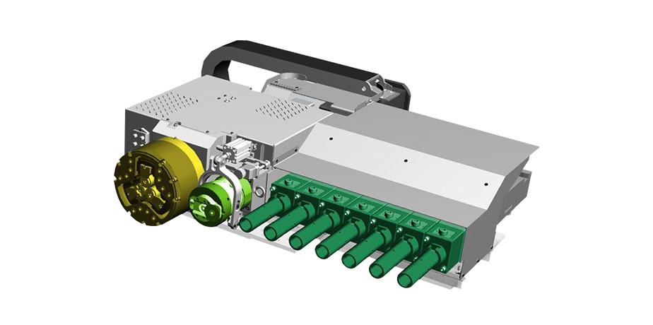 E-FORM All-electric tube end-forming machine with CNC rolling device
