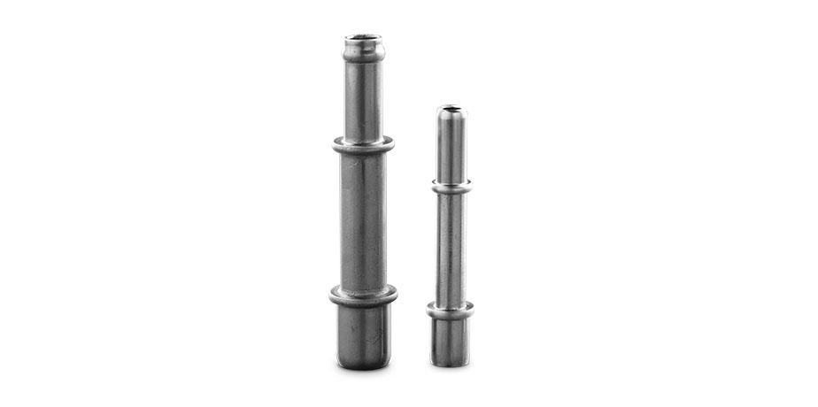 Rohr mit umgeformten Enden und doppelter O-Ring-Nut
