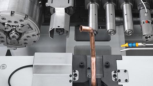 E-SHAPE – vollelektrische Rohrumformmaschinen mit bis zu 10 Tonnen Schubkraft