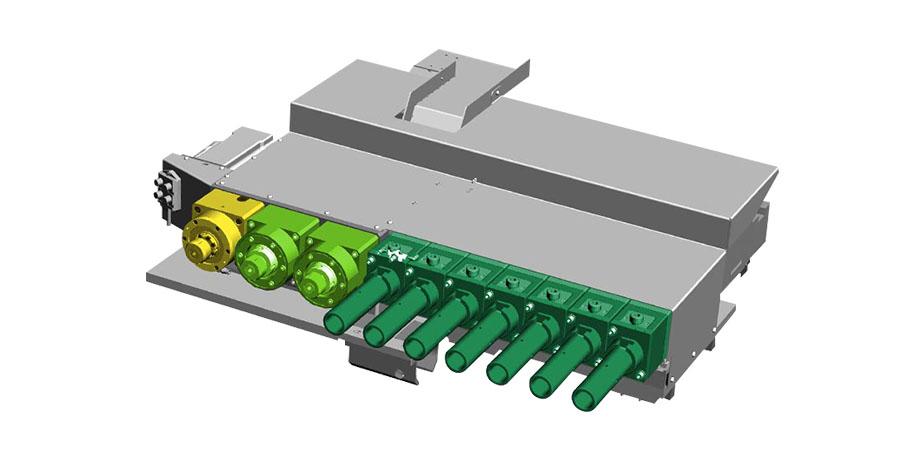 E-SHAPE - Machine de formage de tubes entièrement électrique jusqu'à 10 tonnes de poussée