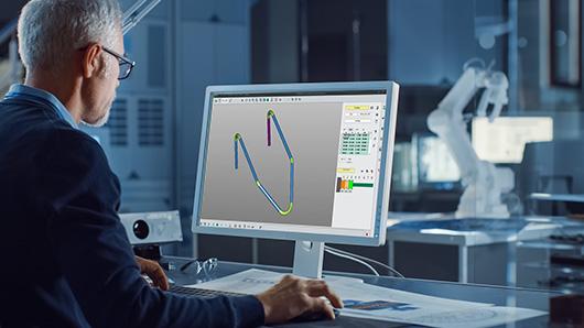 Program your tube bending in the office