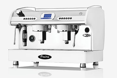 Making coffee machine components with coil-fed tube bending machines and end-forming machines.