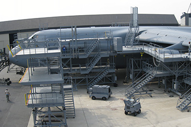 Kern Steel - Steel structures for the aeronautical sector
