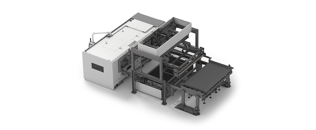 Integration of automatic sheet handling systems