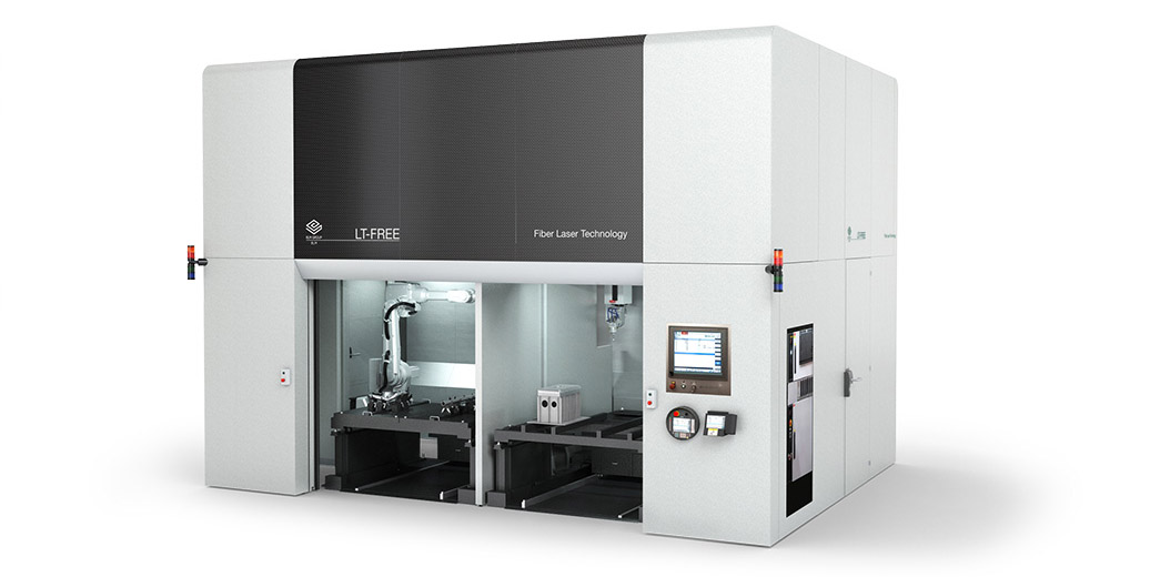 LT-FREE - 5-axis CNC 5-Axis laser with robot