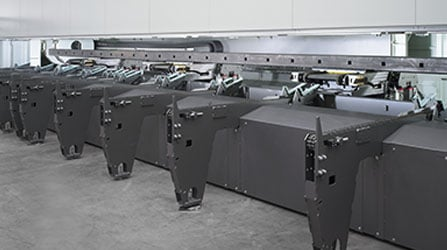Long part unloading cycle