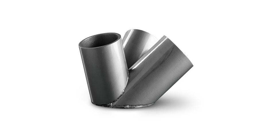 Interlocking of round steel sections for bridges
