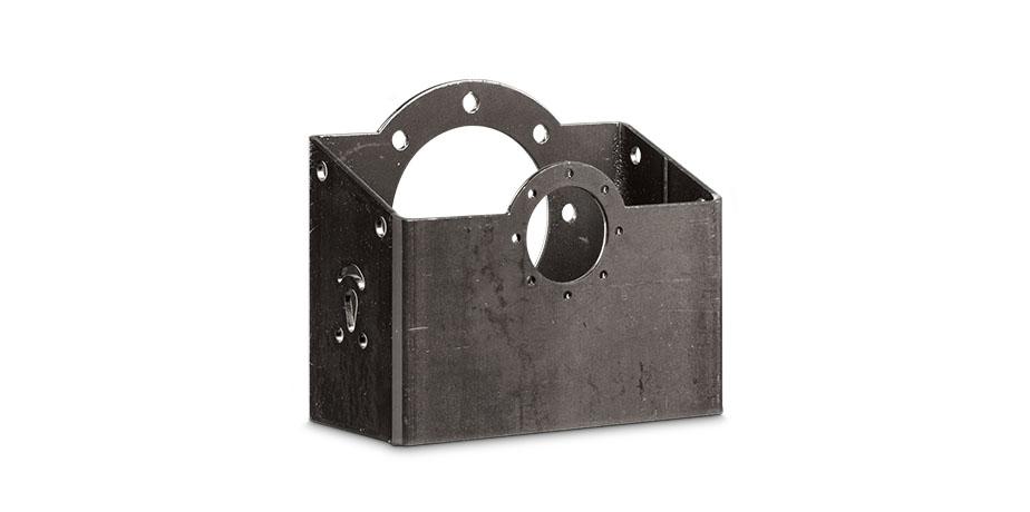 Componente tubular de acero para remolque agrícola