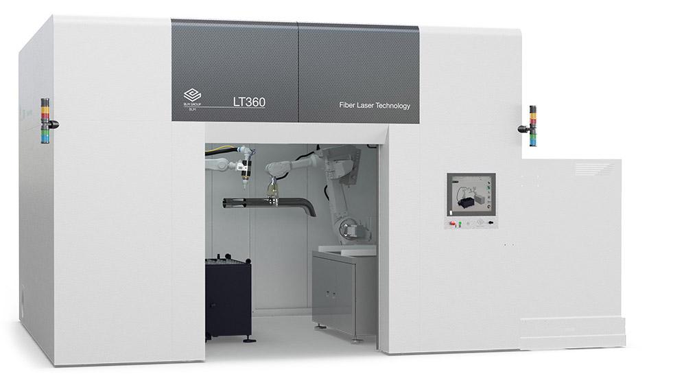 LT360 – 3D robot lasersnijsysteem