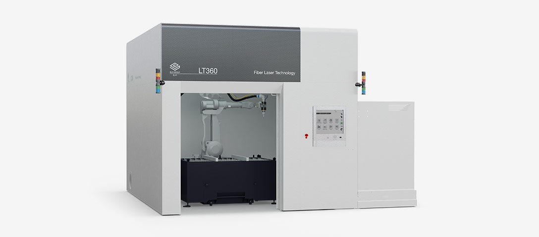 Robotic 3D laser cutting system for stamped and deep-drawn parts