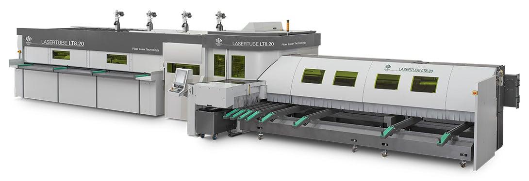 Configuration de base avec source laser à fibre