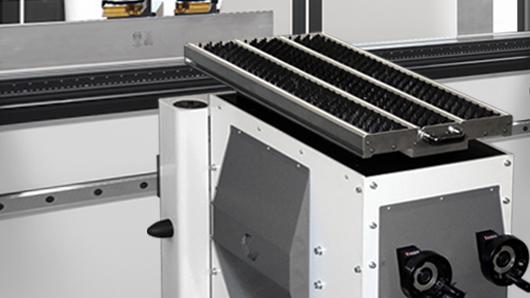 CNC -controlled Sheet Follower