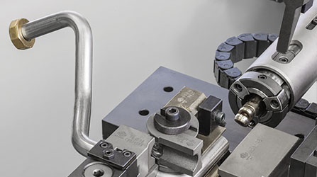 Tube benders for complex shaped parts