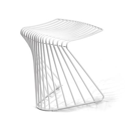Componente per sedia da ufficio realizzato con piegafilo cnc