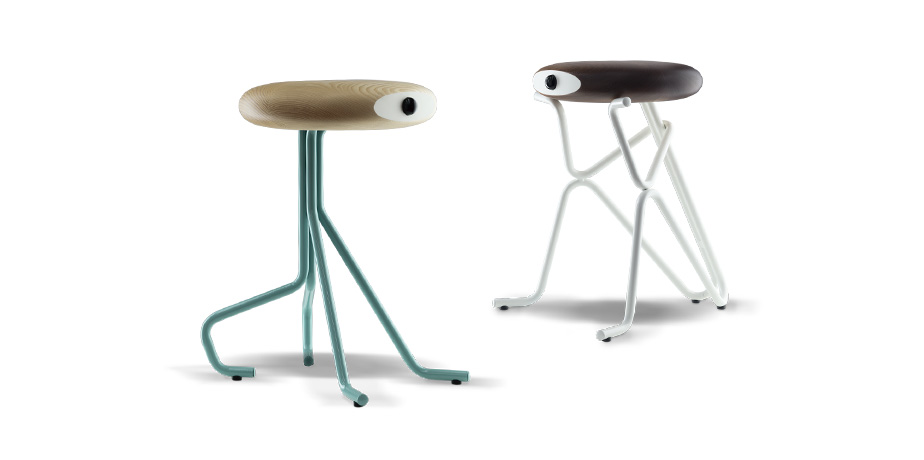 Stools made with laser cutting and tube bending machine