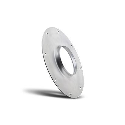 Composant pour hotte d'aspiration réalisé avec cintreuse de tubes à CNC