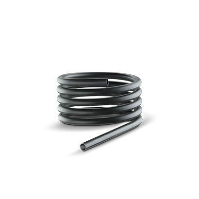Coil for heat exchange made with CNC tube benders
