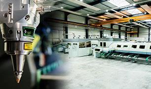 MarkSTAHL fabrica os tubos curvos e cortados a laser direto da caixa
