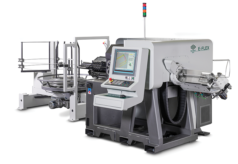 E-FLEX CNC single-head double-turret CNC wire bending machine