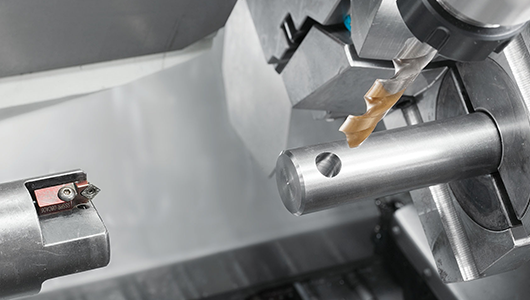 Integrated radial drilling and milling unit