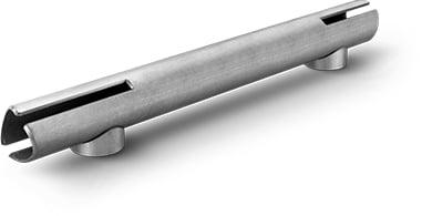 Tubo per impiego strutturale tagliato laser cianfrinato